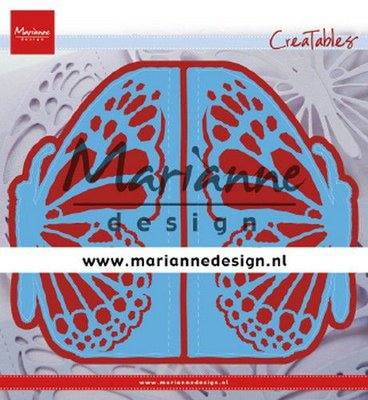 Marianne D Creatable folding die hek vlinder LR0638 73x135 mm