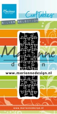 Marianne D Craftable Punch die puzzel CR1492 26x90 mm