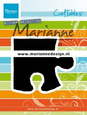 Marianne D Craftable Puzzelstuk CR1491 83x73.5 mm