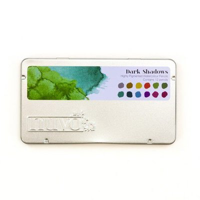 Nuvo watercolour potloden - Dark Shadows 524N (01-20)