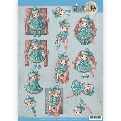 CD11428 3D Knipvel - Lilly Luna - Mooie strikken