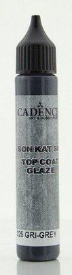 Cadence Top Coat Glaze - voor Beton effect Grijs 01 069 0025 0025  25 ml