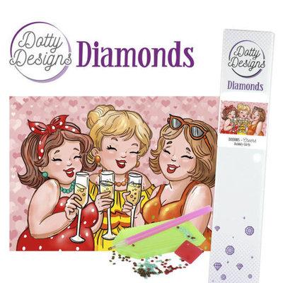 DDD10005 Dotty Designs Diamonds - Bubbly Girls - Cheers