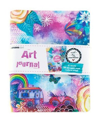 Studio Light Ringbinder Art Journal Art By Marlene 5.0 nr.09 JOURNALBM09