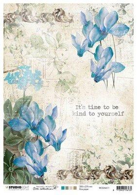 Studio Light Rice Paper A4 vel Jenine's Mindful Art nr.11 RICEJMA11