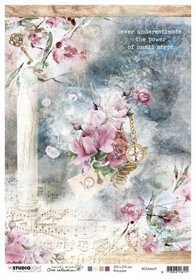Studio Light Rice Paper A4 vel Jenine's Mindful Art nr.09 RICEJMA09