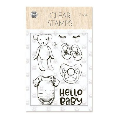 Piatek13 - Clear stamp set Baby Joy Hello Baby P13-BAB-30 A7