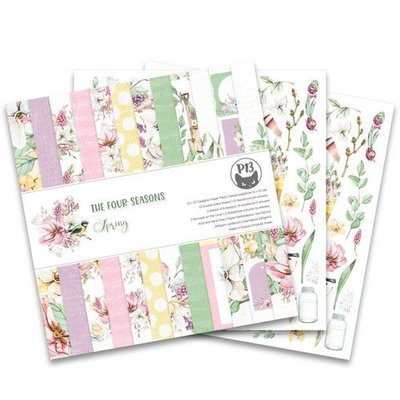 Piatek13 - Paper pad The Four Seasons - Spring 12x12 P13-SPR-08