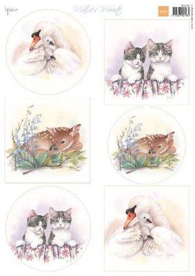 Marianne D Knipvellen Mattie's Mooiste - Babydieren MB0183 A4
