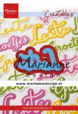 Marianne D Creatable lente (NL) LR0645 58x28mm, 63x33mm