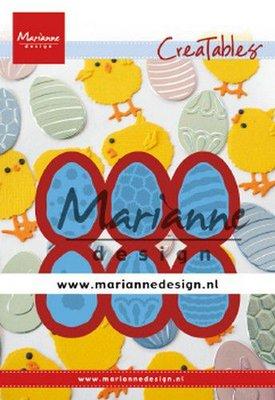 Marianne D Creatable paaseieren LR0643 20,5x30mm