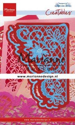 Marianne D Creatable Anja's bloemenhoek LR0642 78x129mm