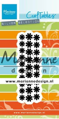 Marianne D Craftable Punch die madeliefjes CR1501 28x92mm