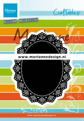 Marianne D Craftable Shaker ovaal CR1500 87,5x107,5mm, 56x75mm