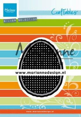 Marianne D Craftable Cross stitch paasei CR1497 60,5x80mm, 64,5x84mm, 69,5x89mm