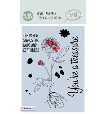STAMPVM15 - StudioLight - Veer en Moon - Dahlia - A6