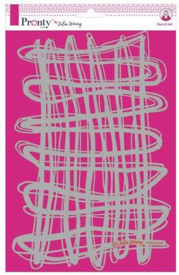 Pronty Stencil A4 String 470.765.023 A4 Julia Woning (02-20)