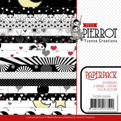 YCPP10030 Paperpack - Yvonne Creations - Petit Pierrot