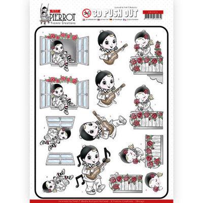 SB10431 3D Pushout - Yvonne Creations - Petit Pierrot - Serenade