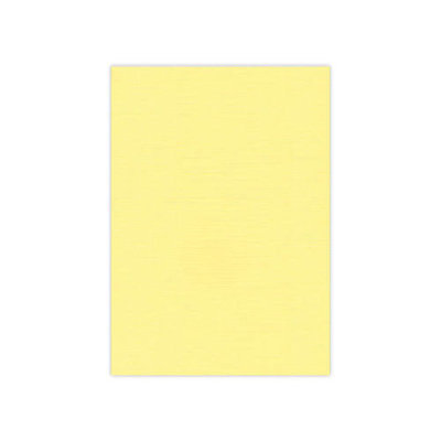 BULK 04 Linnenkarton 13,5x27cm Card Deco Geel per 125 vellen