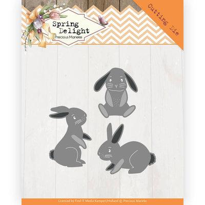 PM10175 Dies - Precious Marieke - Spring Delight - Spring Bunnies