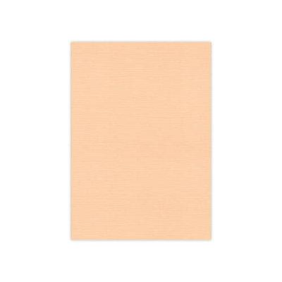 BULK 09 Linnenkarton  A5 (21x14,8cm) Card Deco Zalm per 125 vellen