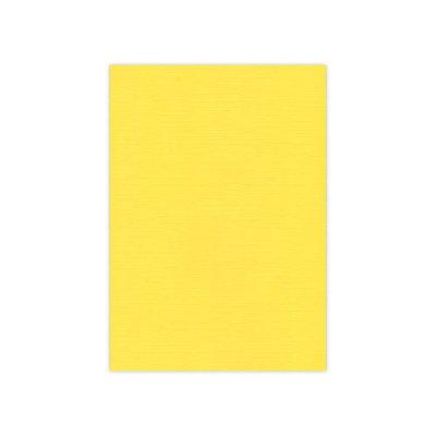 BULK 06 Linnenkarton  A5 (21x14,8cm) Card Deco Kanariegeel per 125 vellen