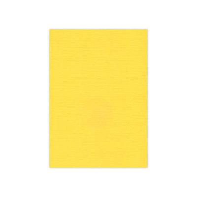 BULK 05 Linnenkarton  A5 (21x14,8cm) Card Deco Oker per 125 vellen
