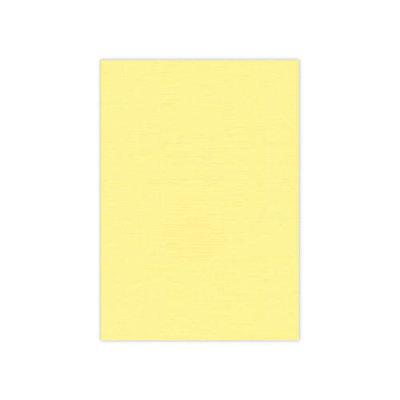 BULK 04 Linnenkarton  A5 (21x14,8cm) Card Deco Geel per 125 vellen