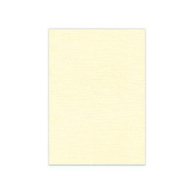 BULK 02 Linnenkarton  A5 (21x14,8cm) Card Deco Creme per 125 vellen