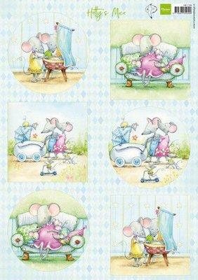 Marianne D Knipvellen Hetty's muizenbaby HK1709 A4 (03-20)