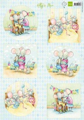 Marianne D Knipvellen Hetty's pasgeboren muizen HK1708 A4 (03-20)
