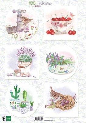 Marianne D Knipvellen Franse antiek lavendel EWK1272 A4 (03-20)