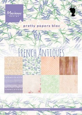 Marianne D Paperpad French Antiques PK9167 A5 (03-20)