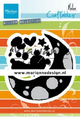 Marianne D Craftable Dreaming bear by Marleen CR1503 7 pcs, 91,5x94 cm (03-20)