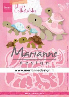 Marianne D Collectable Eline's schildpadden COL1480 112x85mm (03-20)