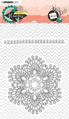 Studio Light Stamp A6 Sweet Flowers nr.438 STAMPSFL438 (03-20)