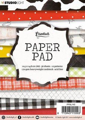 Studio Light paper pad 36 vel 12 patronen nr.143 PPSL143  A6 (03-20)