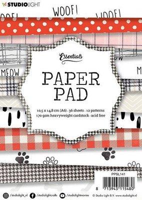 Studio Light paper pad 36 vel 12 patronen nr.141 PPSL141  A6 (03-20)