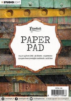 Studio Light paper pad 36 vel 12 patronen nr.139 PPSL139  A6 (03-20)