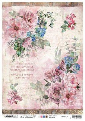 Studio Light Rice Paper A4 vel Jenine's Mindful Art 3.0 nr.15 RICEJMA15 (03-20)