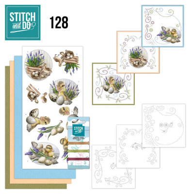 STDO128 Stitch and Do 128 - Amy Design - Botanical Spring