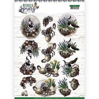 CD11471 3D cutting sheet - Amy Design - Botanical Spring - Lapwing