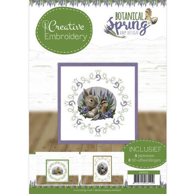 CB10012 Creative Embroidery 12 - Amy Design - Botanical Spring