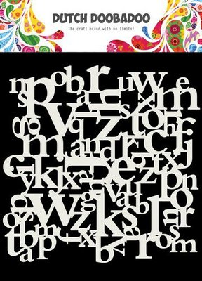 Dutch Doobadoo Dutch Mask Art 15x15cm Letters 470.715.620