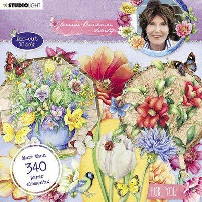 Studio Light Die Cut Book 15x15 Janneke Brinkman no.662 EASYJBS662