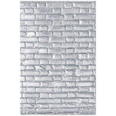 Sizzix - 3-D Texture Fades Embossing Folder Brickwork 664259 Tim Holtz