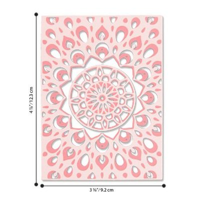Sizzix Thinlits Die Set - 4PK Kaleidoscope Layers 663857 Jessica Scott