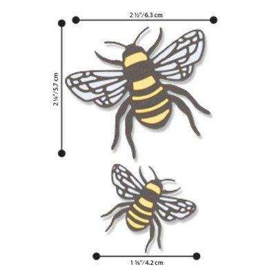 Sizzix Thinlits Die Set - 4PK Bee 663852 Lisa Jones