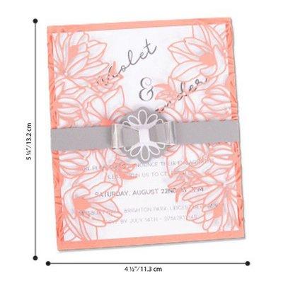 Sizzix Thinlits Die Set - 7PK Floral Wrap 663692